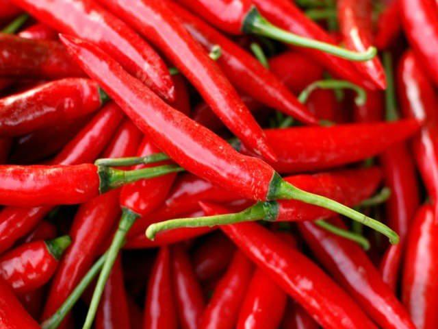Peppers, Serrano Hot Chili