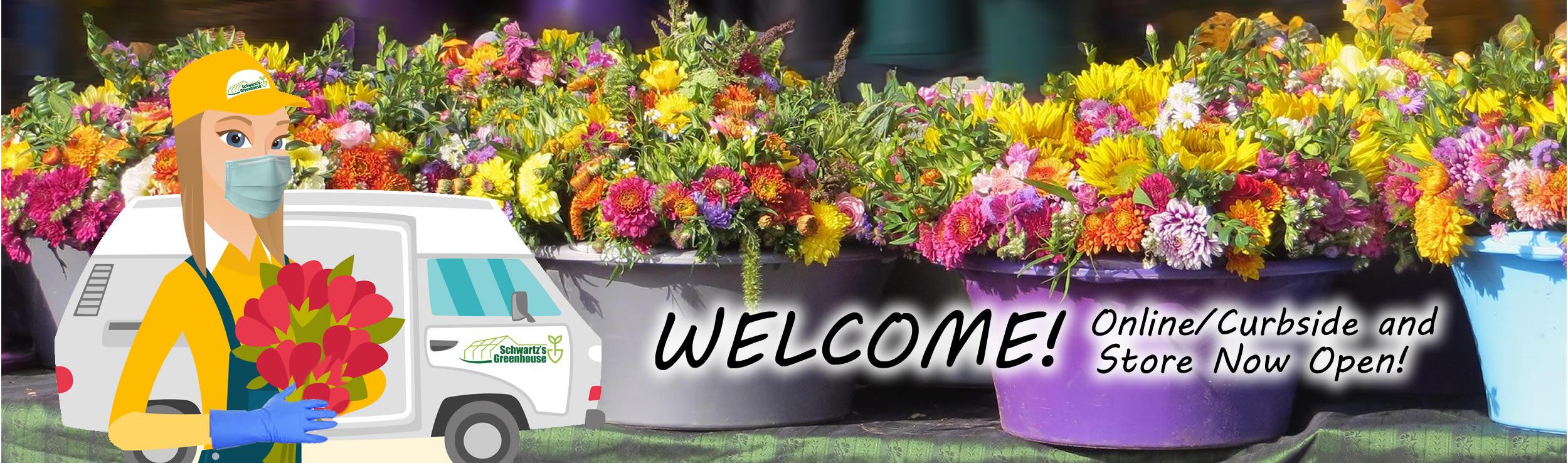 Schwartz Greenhouse & Garden Center welcome