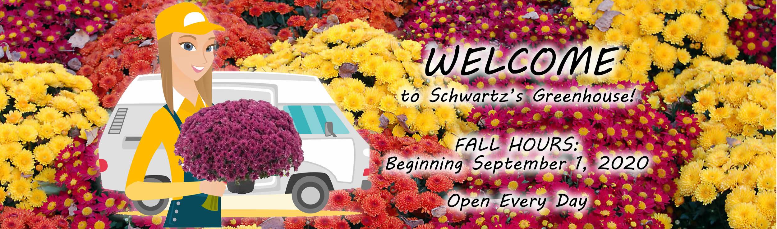 Schwartz Greenhouse & Garden Center fall